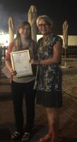 Presenting the Inaugural Sue Beeton Achievement Award, 2016