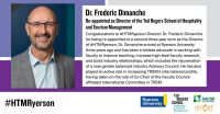 Dr. Frederic Dimanche Re-appointed as Director of #HTMRyerson